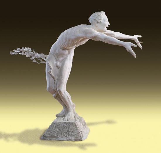 Puck - Bronze sculpture by Barry Johnston: www.sculptorjohnston.com/galleries/shakespeare/puck.htm